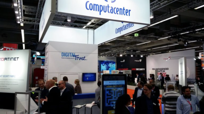 Fink & Fuchs IT-SA Messestand Computacenter